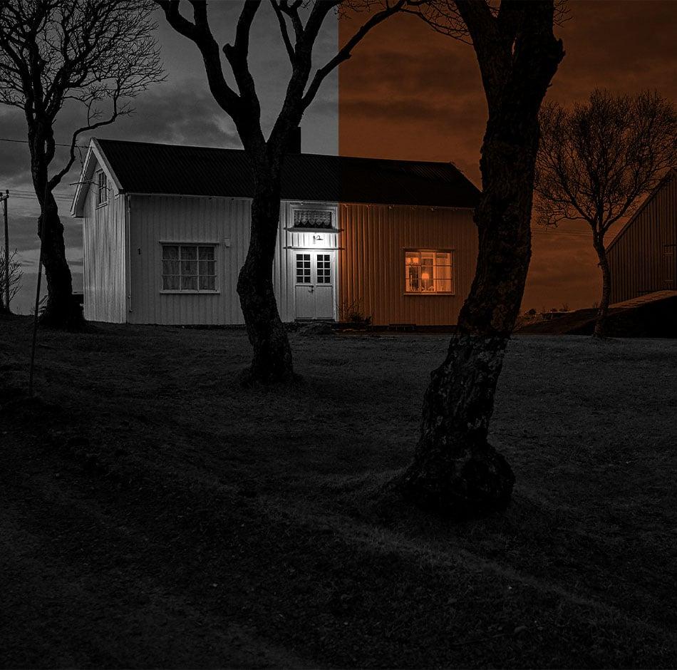 Isolation par l'extérieur d'une maison PVC